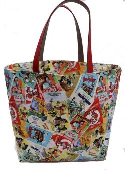 ディズニーの布で作るカバン